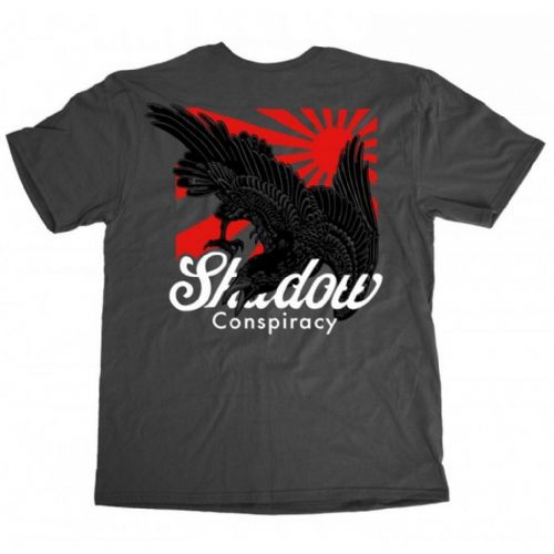 Shadow Rising T-shirt - Charcoal XL